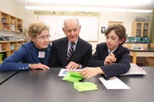 Grandparents Day, North Yarmouth Academy, Yarmouth, Maine, Brian Beard - CIP