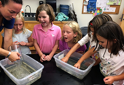 North Yarmouth Academy Science Class