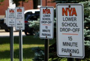 drop-off-signs