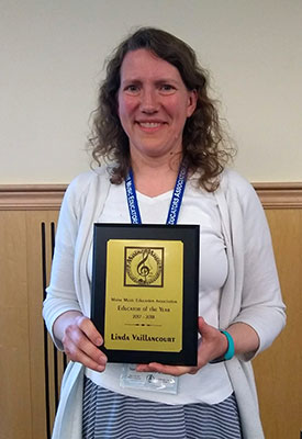 Linda Vaillancourt, Maine Music Educator of the Year