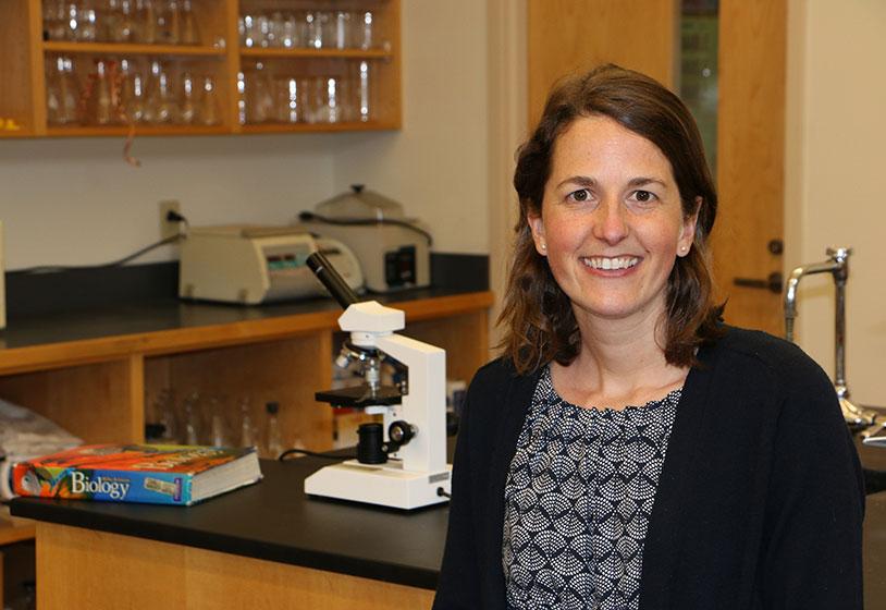 Andrea Lauerman, NYA Science Teacher