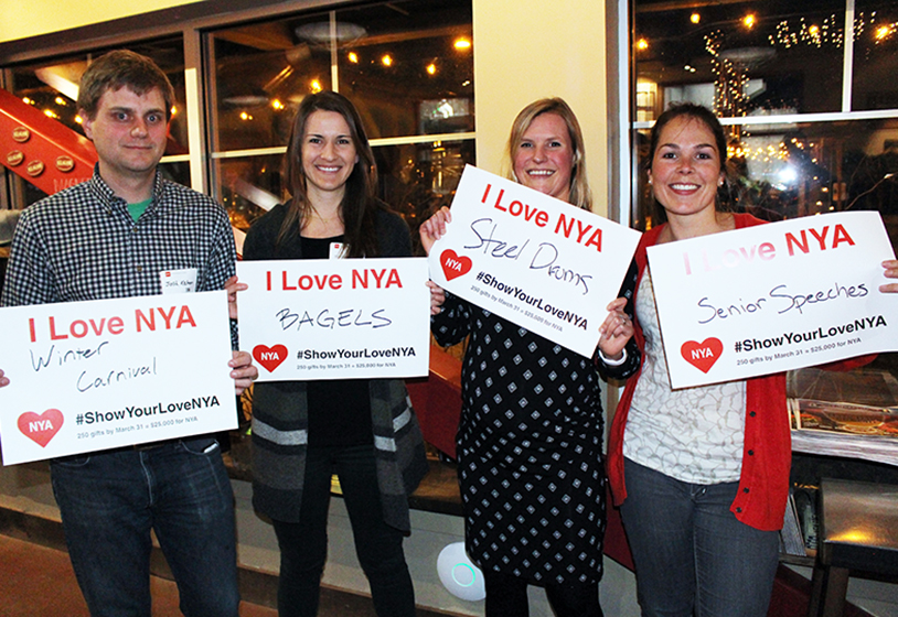 NYA alumni Show Your Love Giving to the Academy Fund
