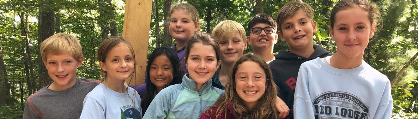NYA 6th Graders at Camp Soci