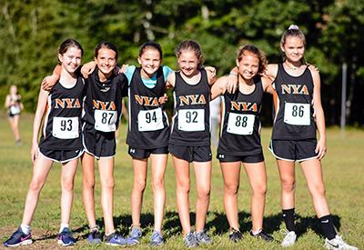 NYA Girls Cross Country 2018