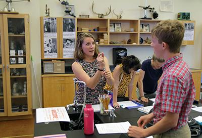NYA Science Class