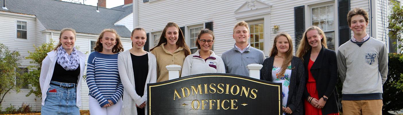 NYA Admission Ambassadors
