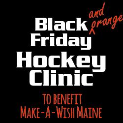 NYA Hockey Clinic to Benefit Make-A-Wish Maine