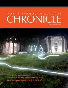 NYA Chronicle Magazine Cover 2018