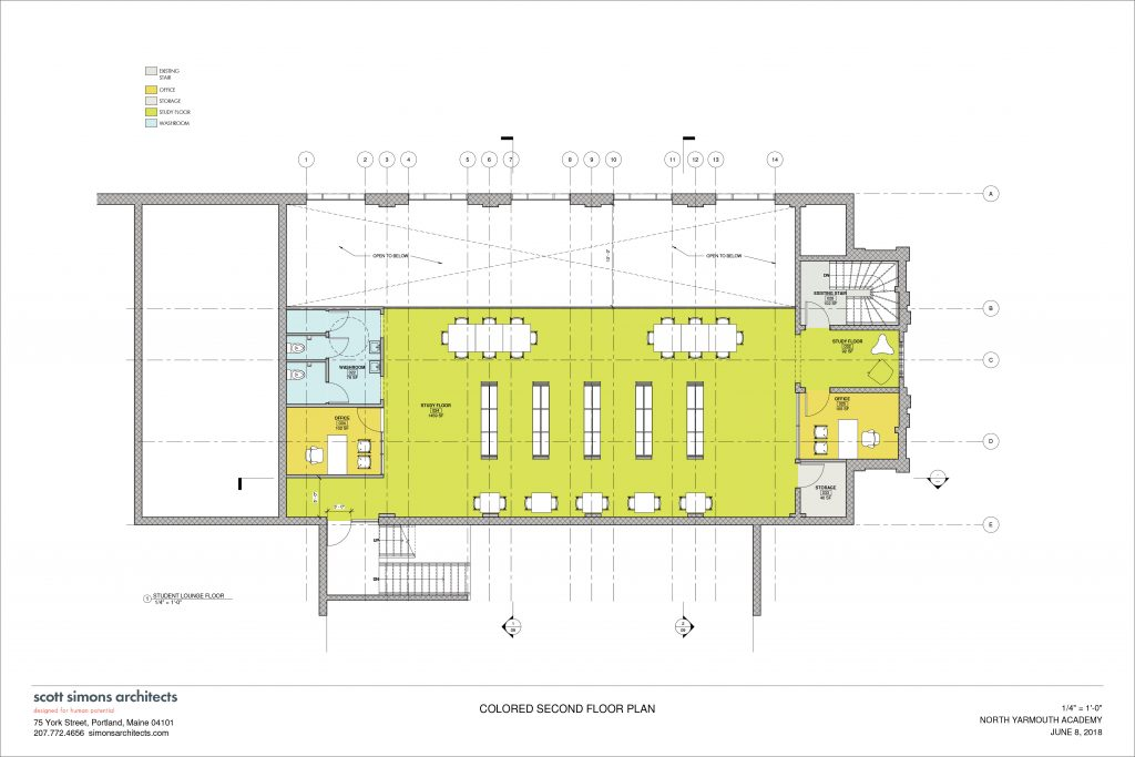 NYA Learning Commons Floor Plan 2