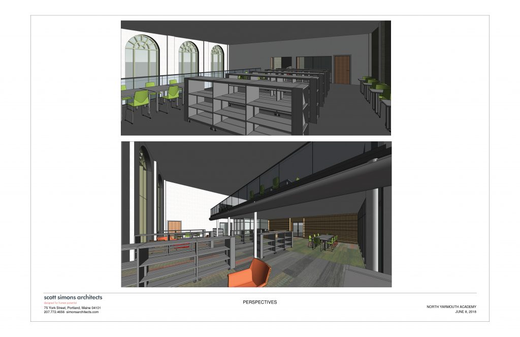 NYA Learning Commons Rendering 1