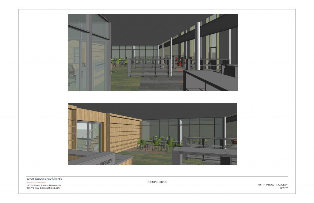 NYA Learning Commons Rendering 2