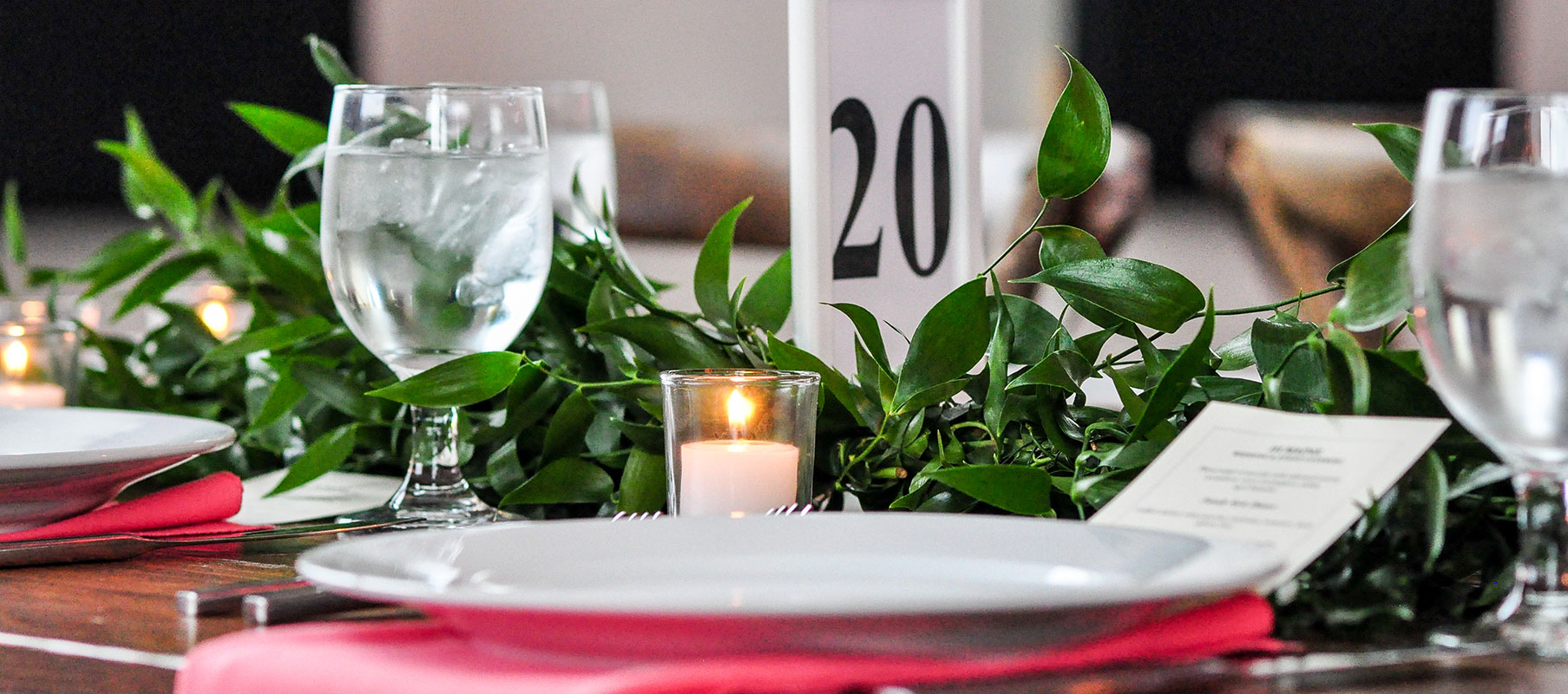 NYA Soiree 2019 table setting