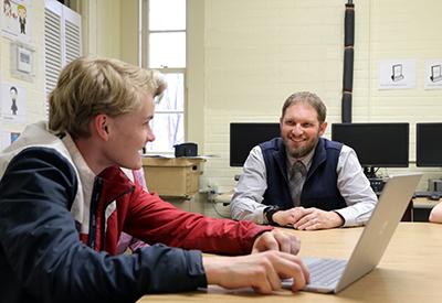 NYA teacher with student 2019 - credit Brian Beard - CIP