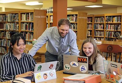 NYA in Library 2019 - credit Brian Beard - CIP