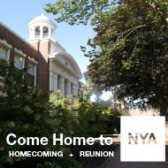 Come Home to NYA 2019