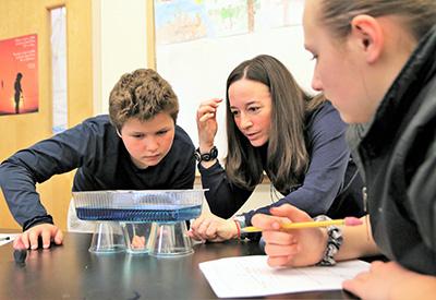 NYA MS Science Class