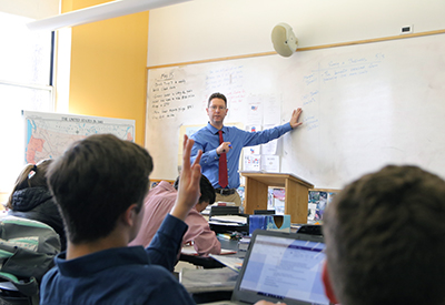 Mr. E's History Class NYA