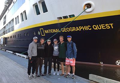 NYA AK Trip Glacier Bay 2019