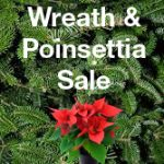 Wreath and Poinsettia Sale