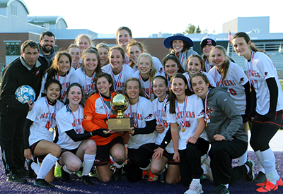 Girls Soccer state champs 2019