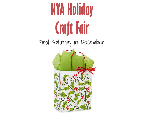 NYA Holiday Craft Fair Graphic Stacked