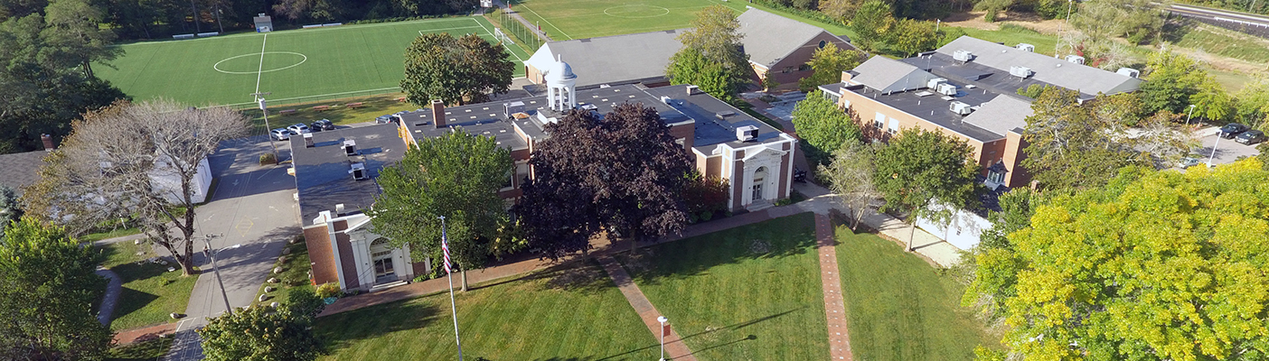 NYA Front of Campus Aerial