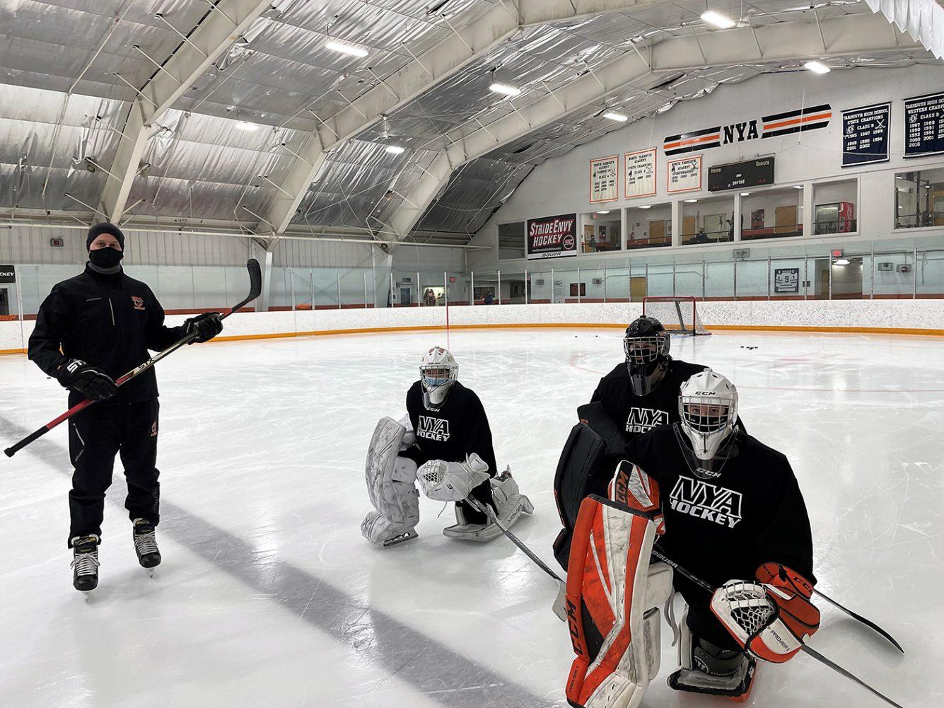 NYA Girls Goalie Practice Winter 2021