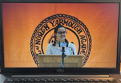Senior Speech 2021 During COVID