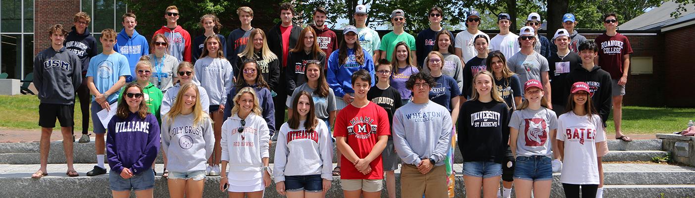 Class of 21 College Sweatshirt